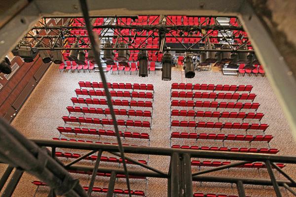 Above Auditorium 12