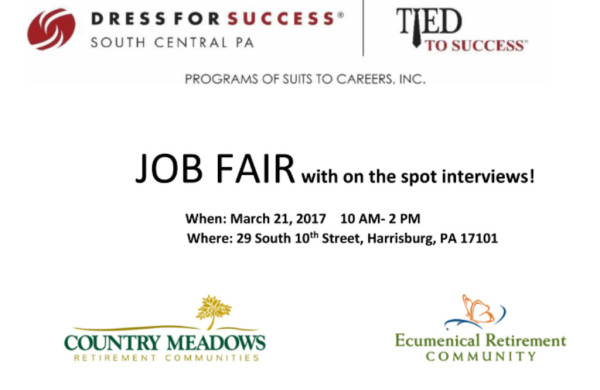 JOB FAIR: Suits to Careers and Country Meadows