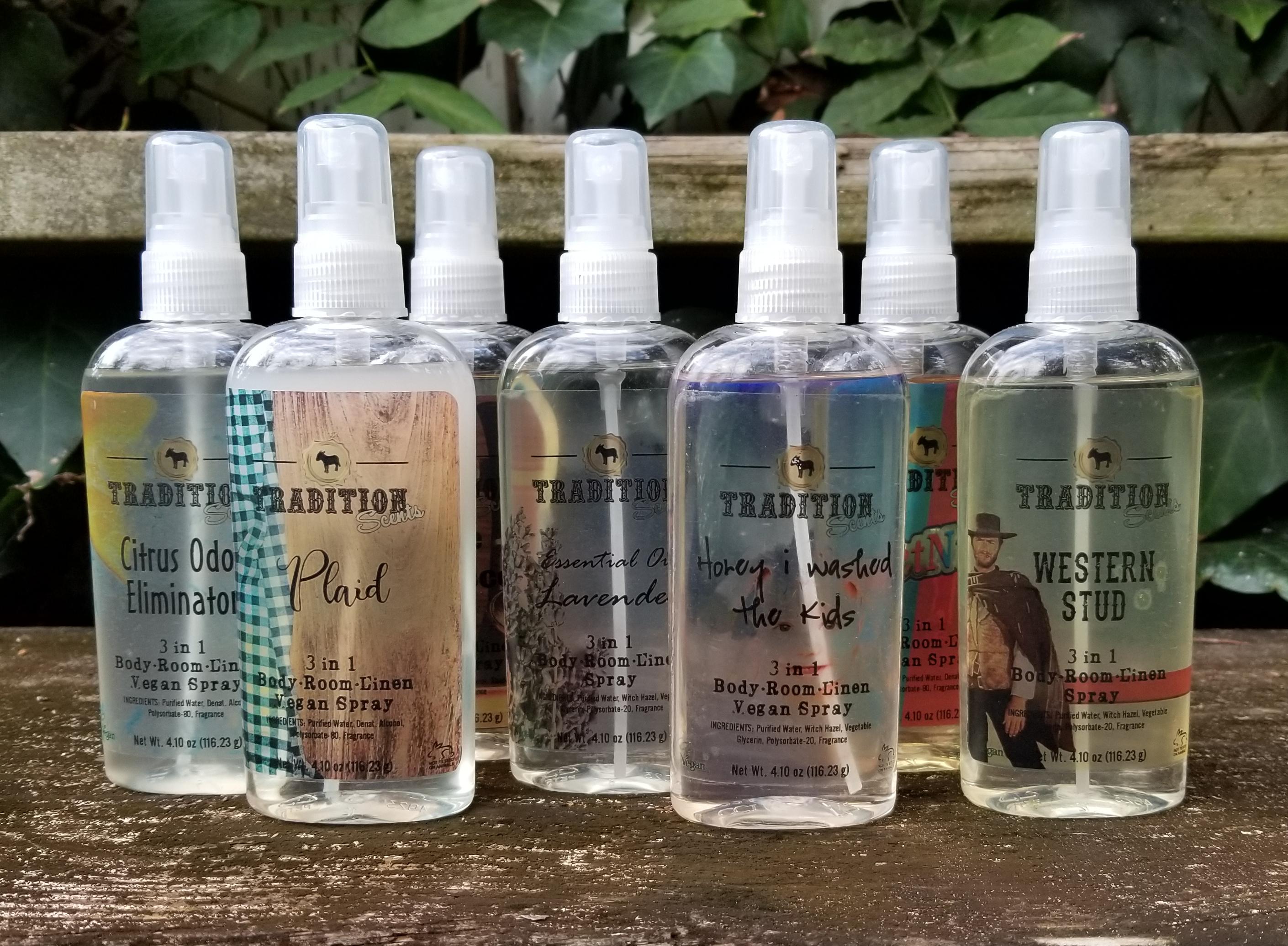 Natural Body Room Linen Spray