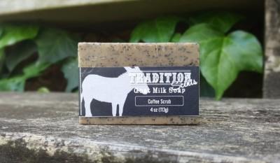 Coffee Scrub Goat Milk Soap