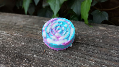 Cotton Candy and Shea Butter Swirl Bath Bomb
