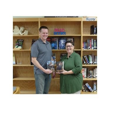Eric Buffington Visits Elk Lake schools