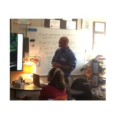 JM Hauser visits Westchester School