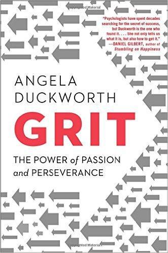 Angela Duckworth, PhD Grit book cover