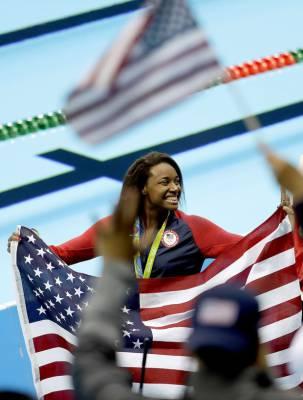 Simone Manuel at Rio 2016