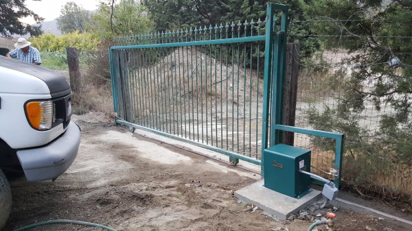 Slide Automated Gate