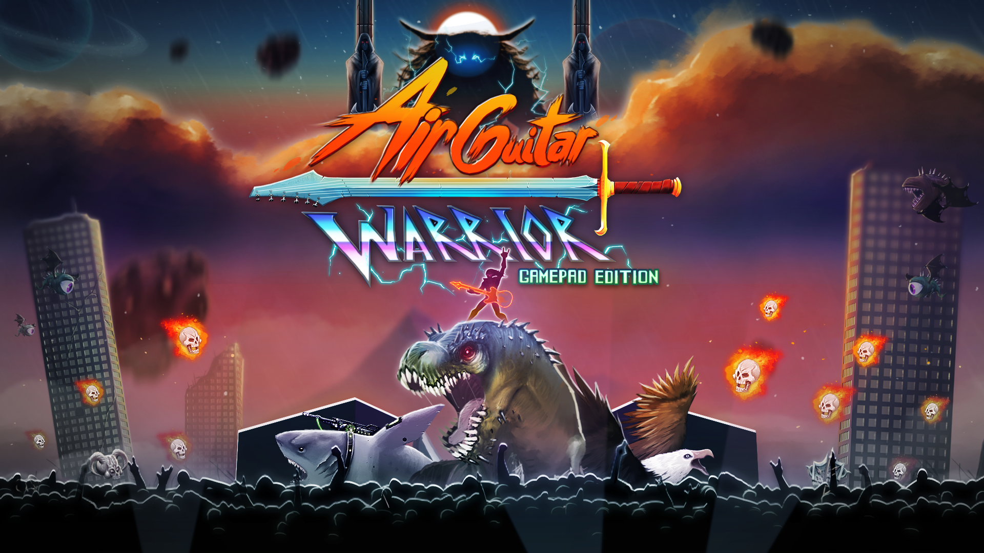 Air Guitar Warrior : Game Pad Edition