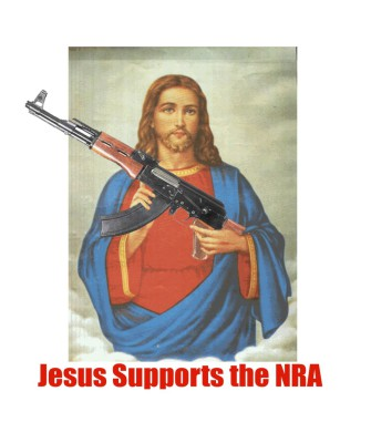 Jesus Supports the NRA