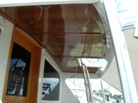 Re-make upper headliner Viking Sportfisher yacht
