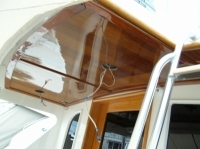 Re-make upper headliner Viking Sport fisher yacht