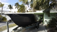 24ft Angler 1984 finished gel coat restoration complete boat restorations