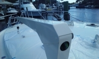 Finished Boat davit on Viking