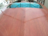 55 X Humphrey wooden race bought for Arlen Ness   Finished boat
