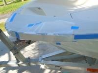 Toe rail cracks Boston Whaler