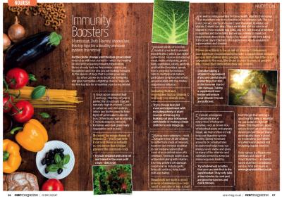 Immunity Boosters in Devon's One Magazine
