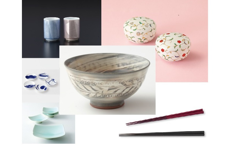 Best Japanese tableware Bowls, cups, dishes and chopsticks
