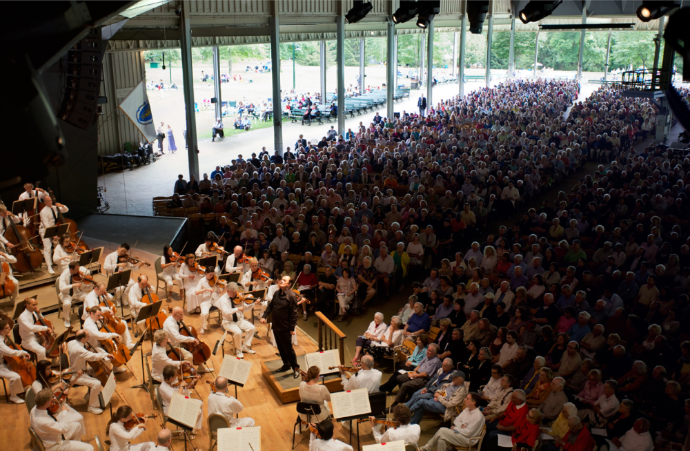 Best fine arts radio WMNR - Classical music, operas, Boston Symphony Orchestra in Tanglewood
