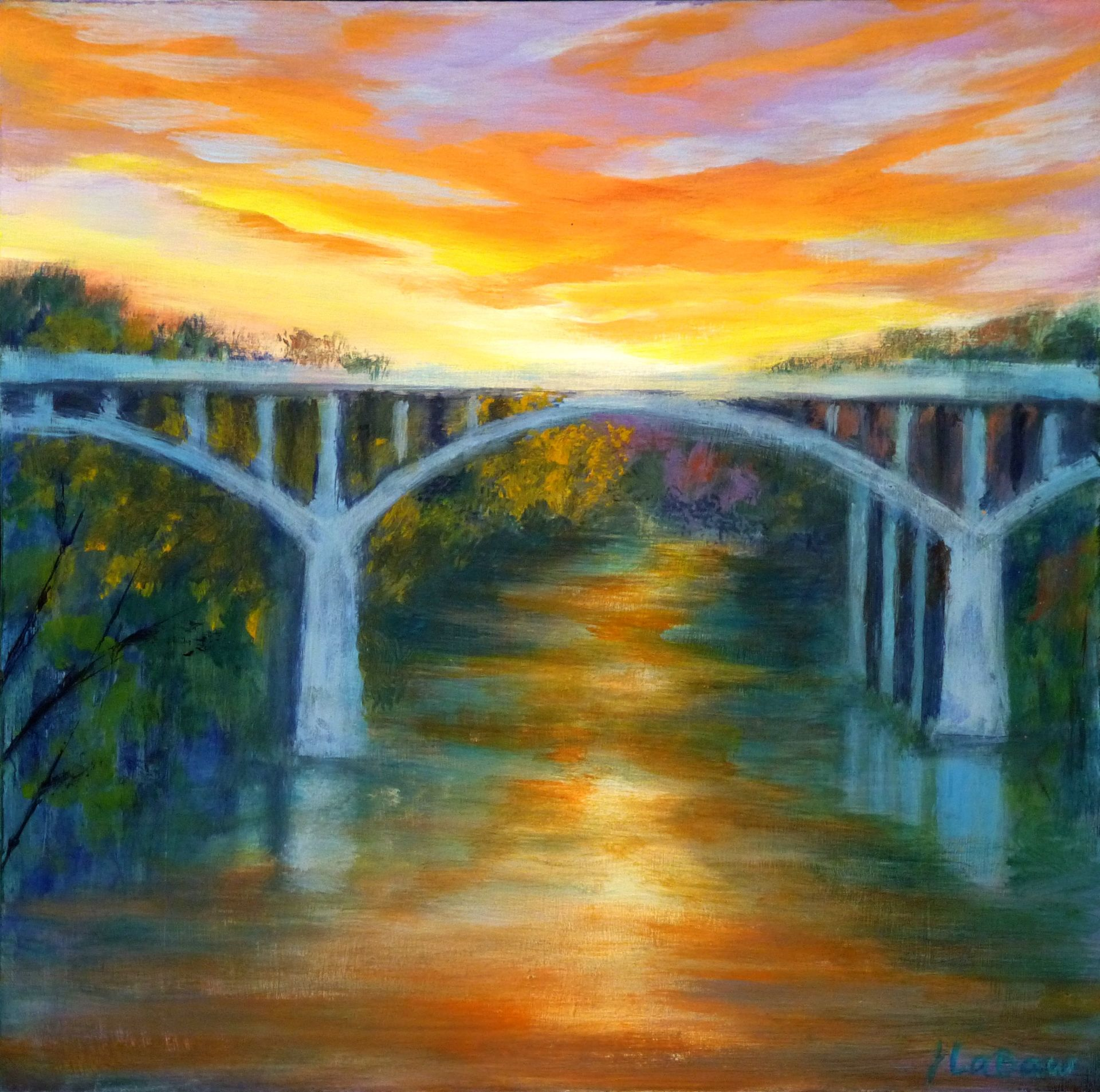 Barton Springs Bridge II