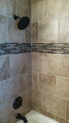 Tile, Bathroom Remodel