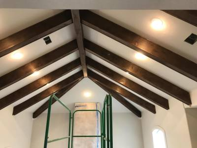 Interior Beam refacing
