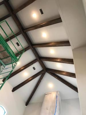Interior Beam refacing