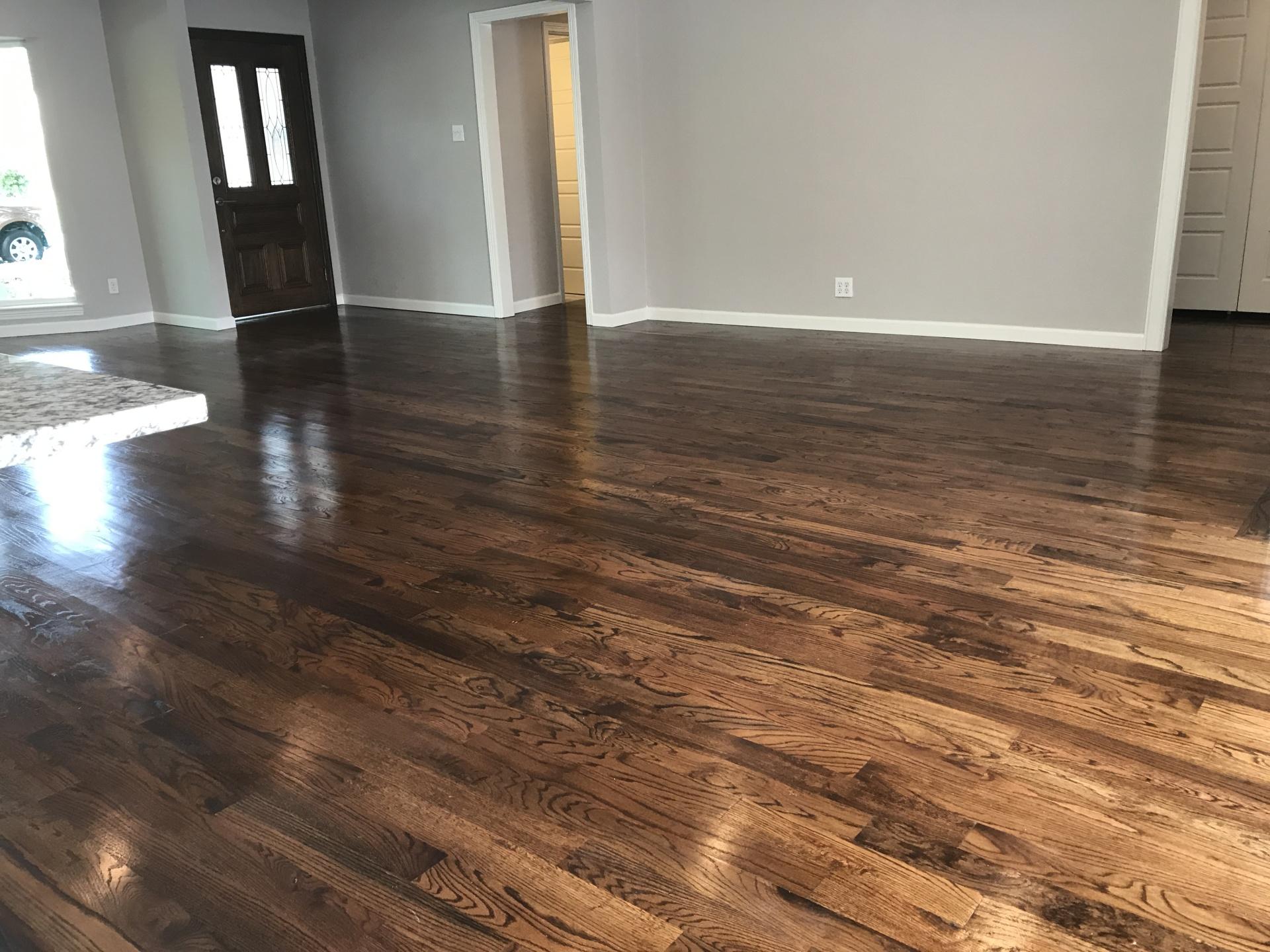 Complete Hardwood Floor Remodelling