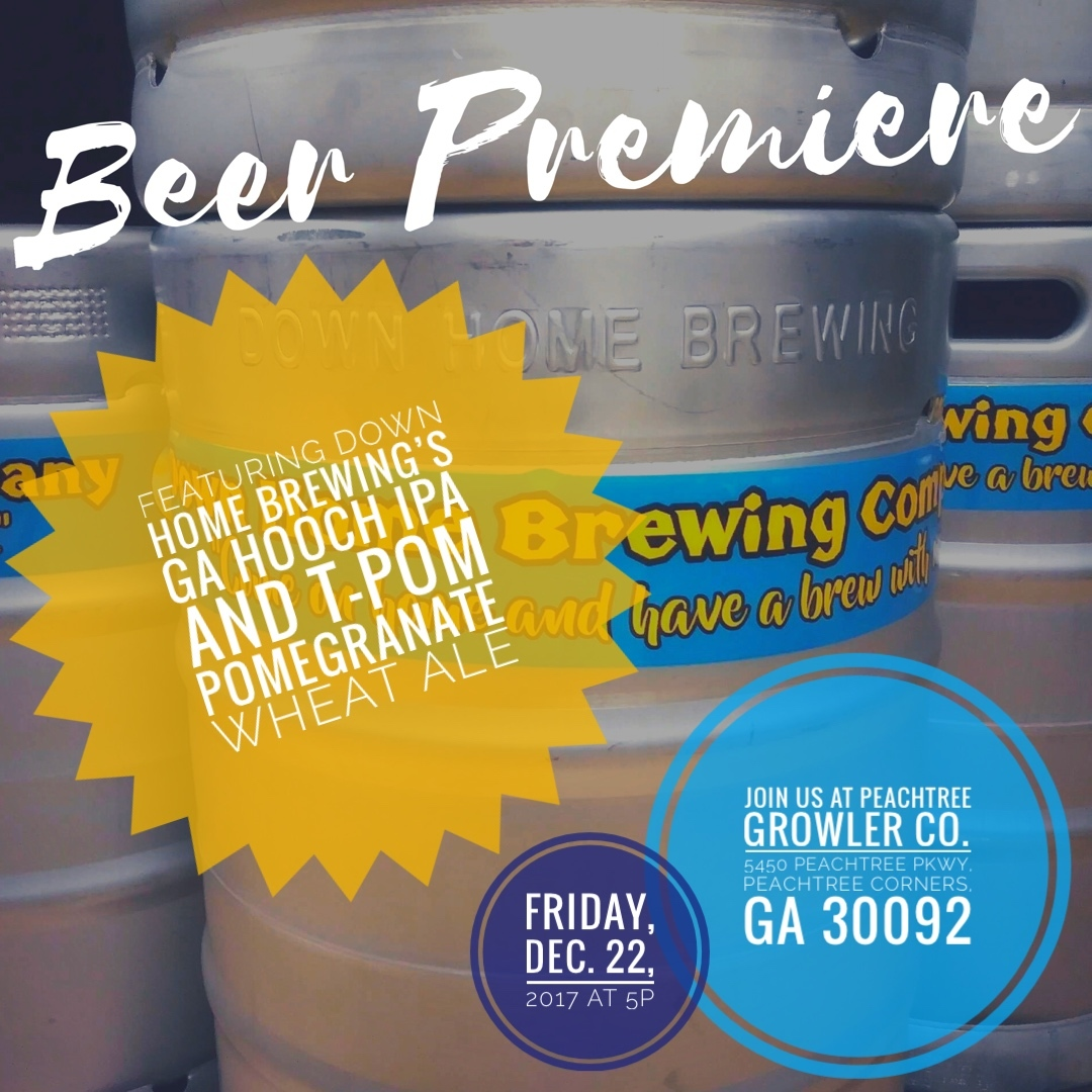 BEER PREMIERE - RESCHEDULED DATE FOR 12/22/17