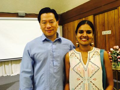 Master Stephen Co and Madhu