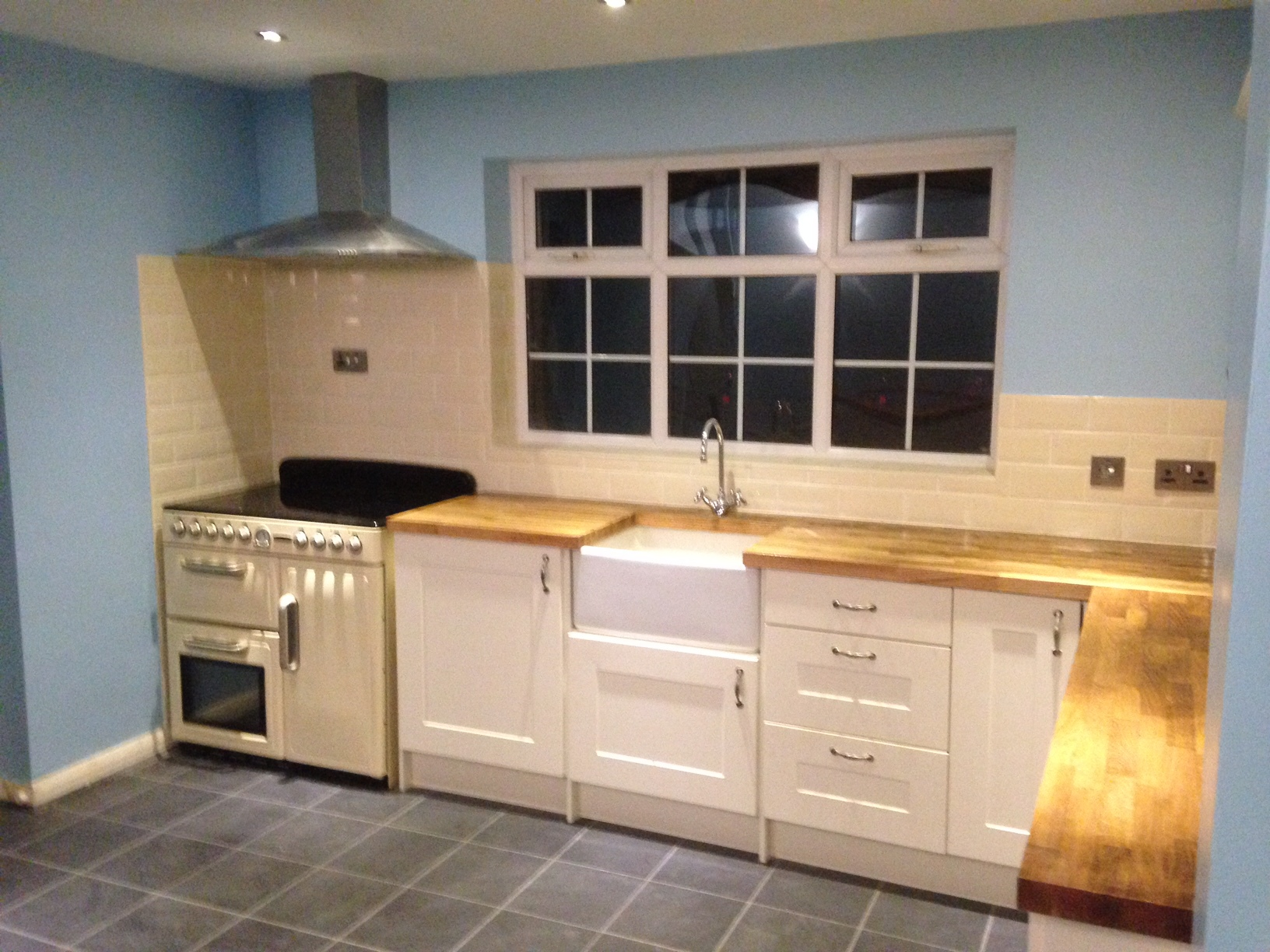Kitchen fitted