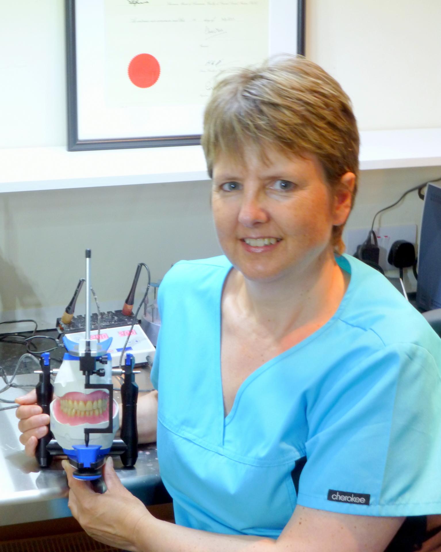 Joanna Jones Award winning Clinical Dental Technician
