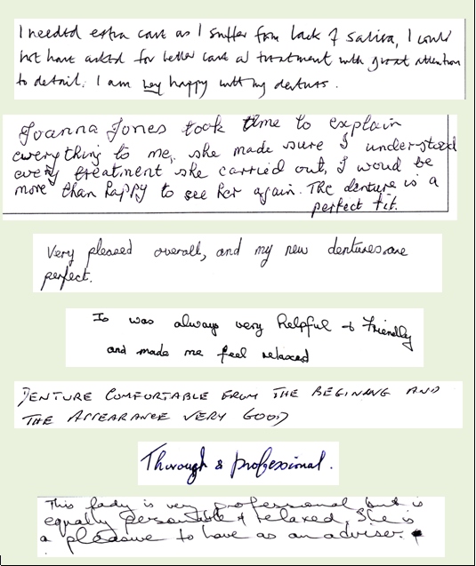 Great patient feedback 2