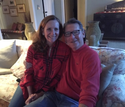 It's good to have great neighbors - Kevin and Jane