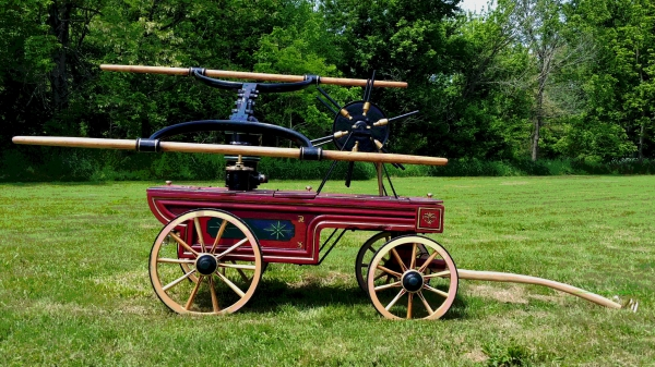 Retired 1883 Rumsey Hand Pumper