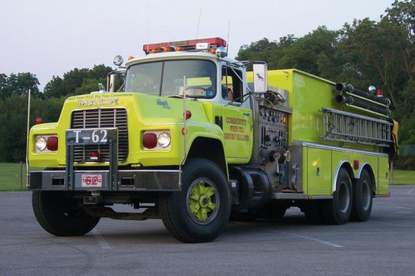 Tanker 62 1987 R Model Mack  ex-Hometown Fire Co