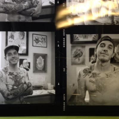 Tyler Cicali Creates Inspirational Custom Tattoo Art in the Heart of Laguna Beach.