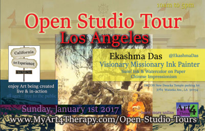 Meet Interesting People Doing Exciting Things in the California Art Experience, Open Studio Tour