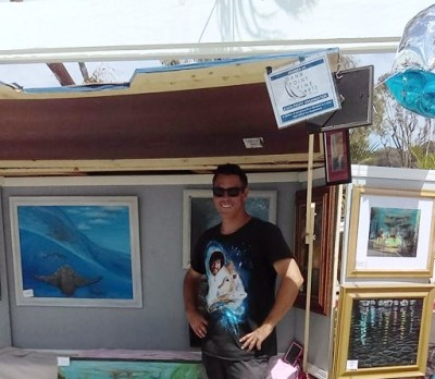 Randy Ortiz, Southern California Ocean Oil Painter, Preps Mobile Gallery for 2018 Road Tour