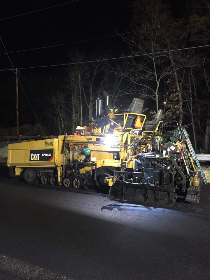 Night Paving
