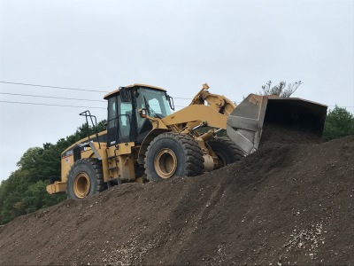 Walsh CAT 966 on Rt. 95 job 2017