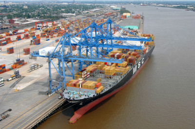 Using Container Port Terminal to load BULK material