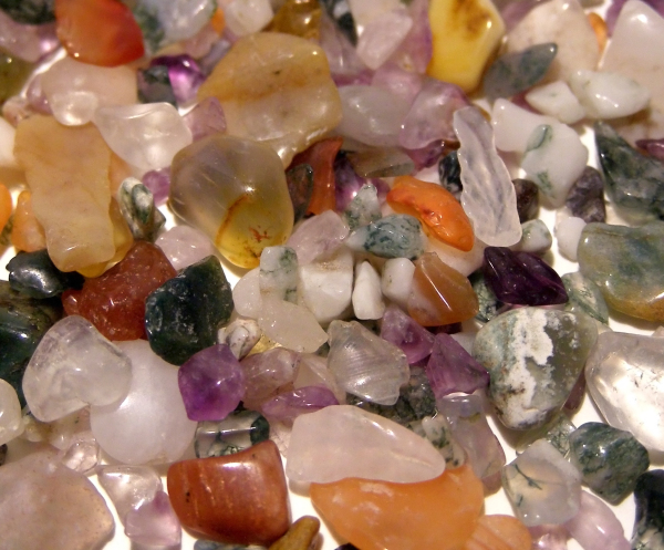 raw gemstones