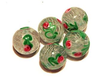 Fiorato beads