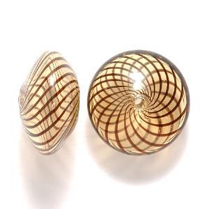 Venetian blown glass beads