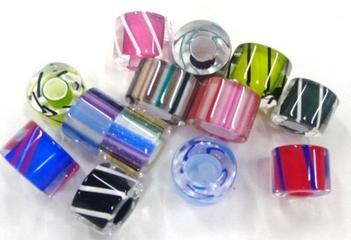 furnace cane glass beads