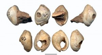 bones used as beads
