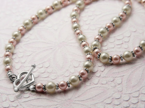 Tutorial for Multi-Strand Howlite Nugget Necklace