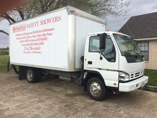 Home Plus Safety Shower Work Truck