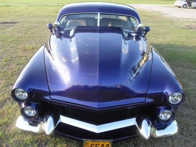'51 Merc we installed a stealth sterio system in