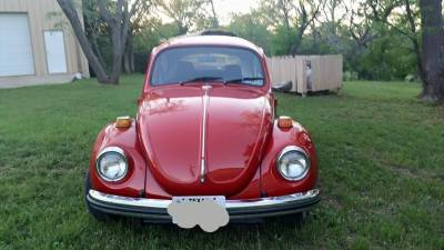 '71 Super Beetle chrome restoration