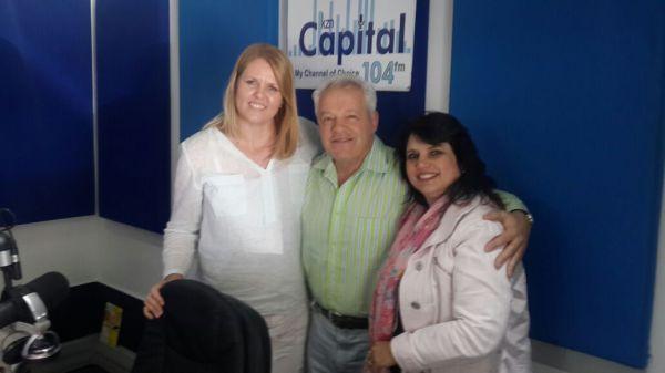 Manuel Escorcio en Belia Lourens